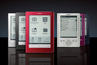 Leitor de Ebook Sony